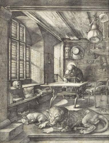 saint jerome dans sa cellule  Albrecht Dûrer.jpg