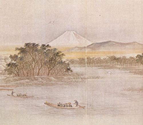 Bacs à Rokugo  Hiroshige.jpg