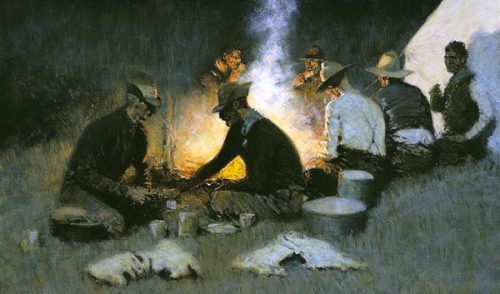 Hunters' Supper Frederic Remington.jpg