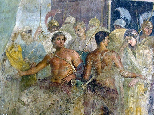 Achille et Briséis Fresque de Pompéi .jpg
