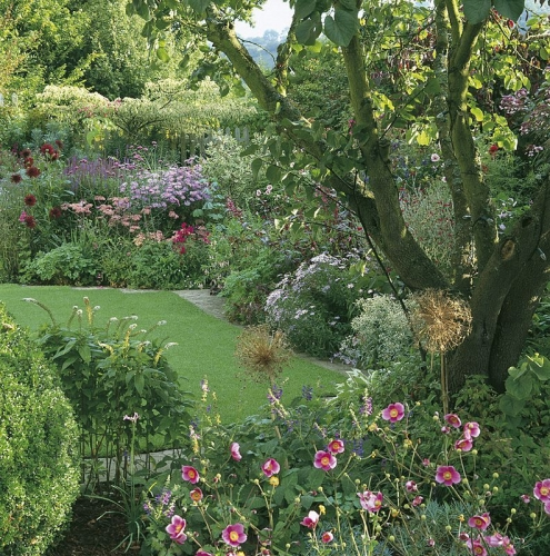 Carnets d 39 un jardin anne marie koenig a sauts et for Jardin de cottage anglais
